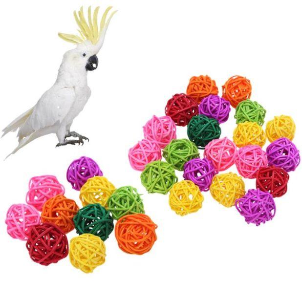 aliexpress rattan balls for birds