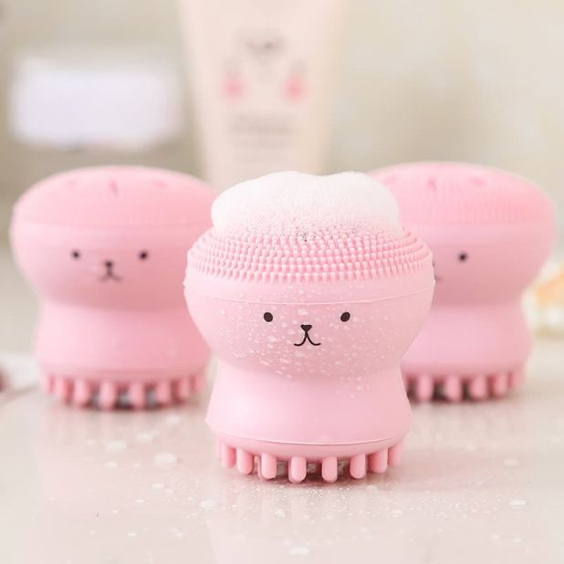 aliexpress face cleaning brush octopus