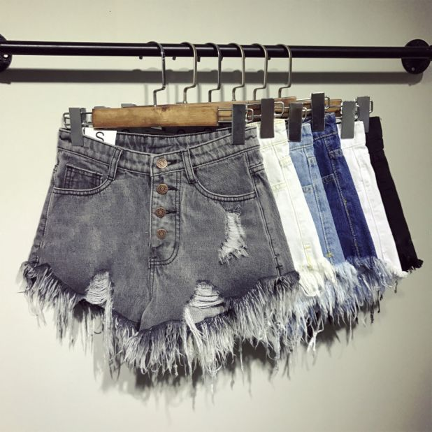 aliexpress denim shorts