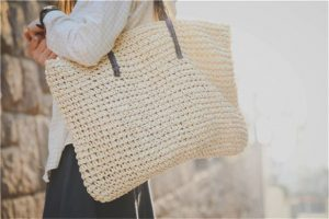 aliexpress rattan bag large