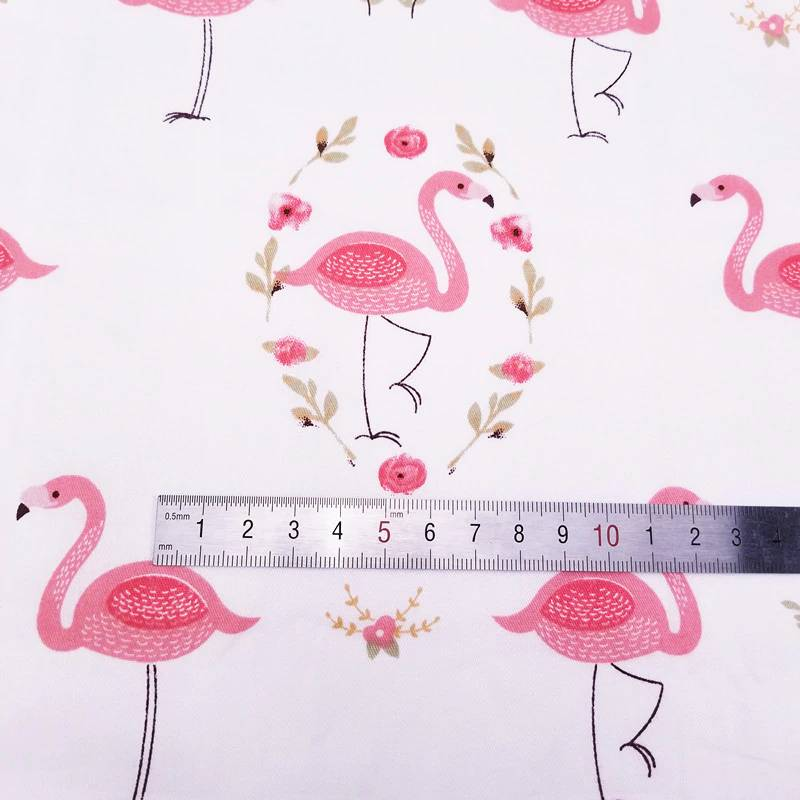 flamingo fabric aliexpress